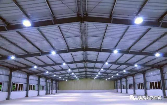 利达集团|青岛地铁8号线钢结构建筑钢筋加工厂项目