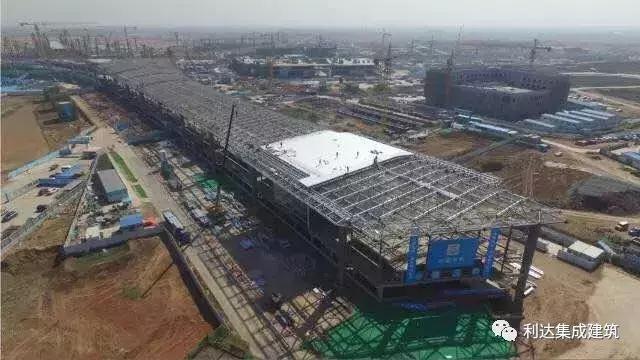 """走近青岛未来新地标""""青岛新机场"""",探秘建设中的新机场临建营地"""