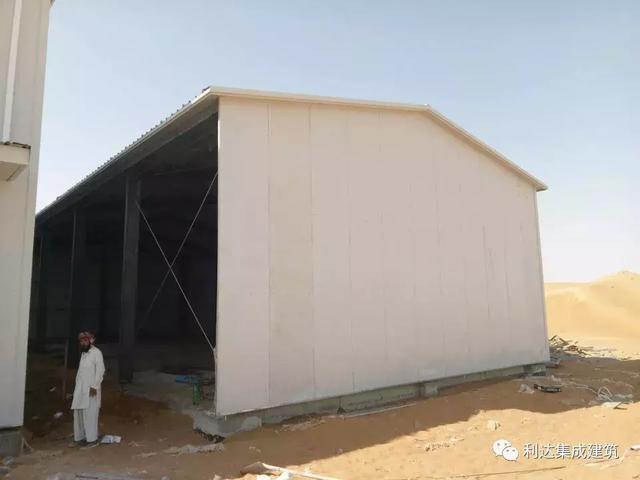 利达案例|阿联酋钢结构厂房项目